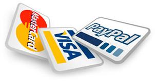 moyens-de-paiement CB et Paypal pour l'Ondehome