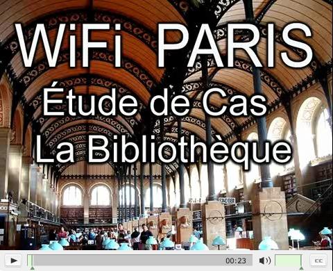 WIFI Bibliothèque de Paris et Antenne Relais mobile