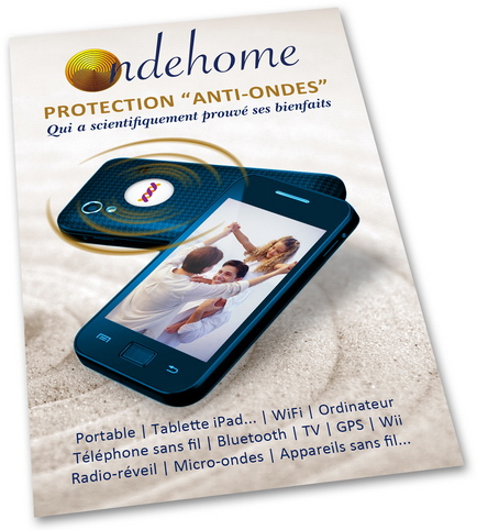 Acheter le Nouveau Patch Ondehome G6 pour vous protéger des micro-ondes