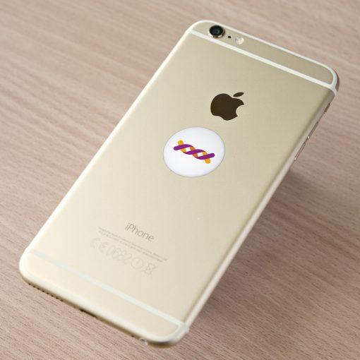 Le Nouveau Patch Ondehome G6 Blanc sur iPhone 6