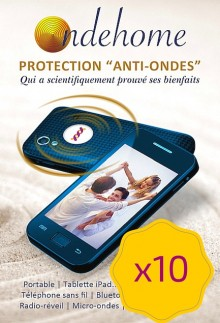 Protection Ondehome G6 – Pack de 10