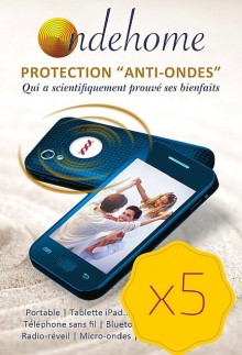Protection Ondehome G6 – Pack de 5