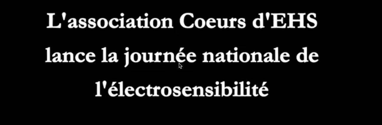 Création de la Journée Nationale de l'Électrosensibilité le 16 juin – Cœurs d'EHS